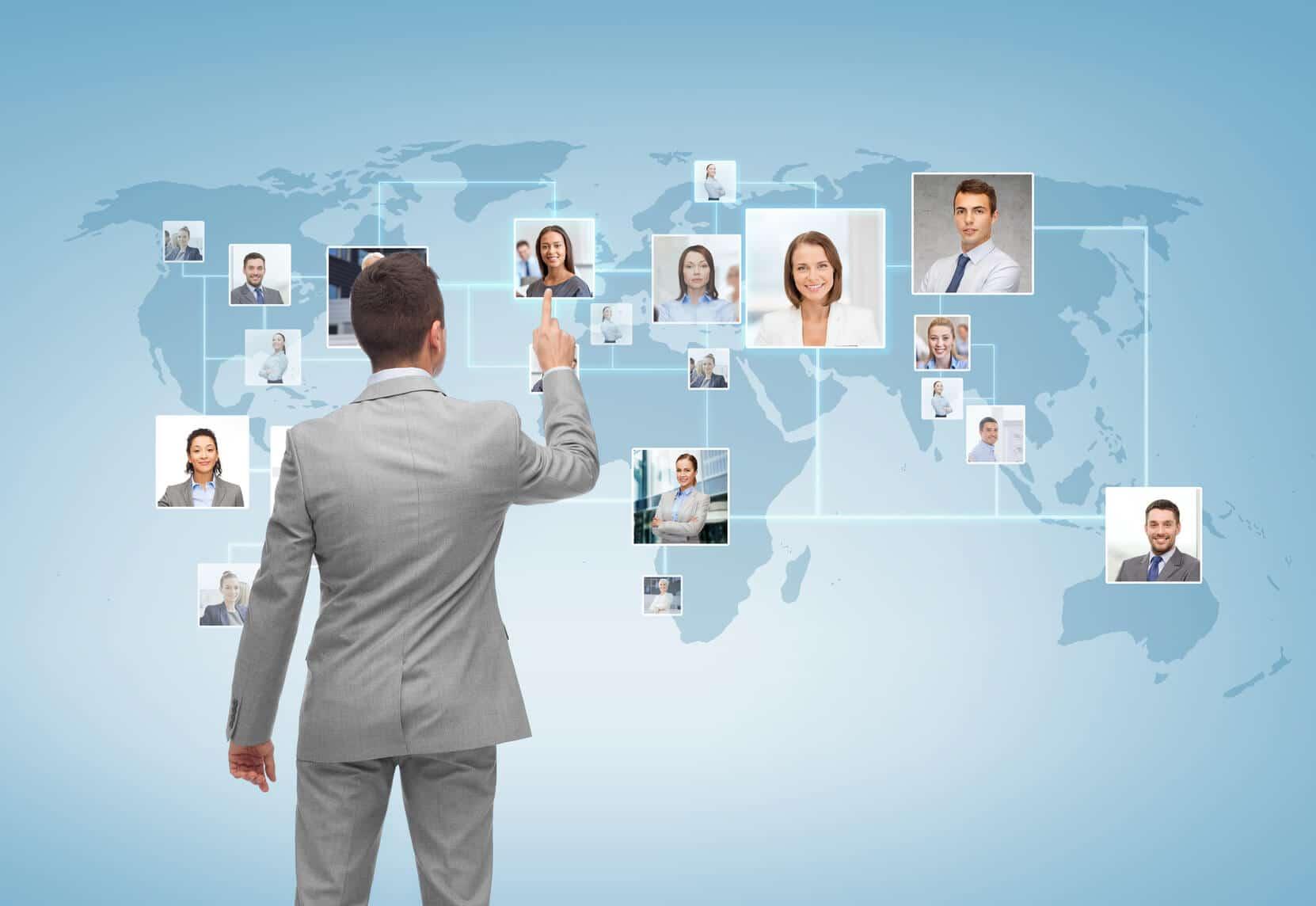 Netzwerken Kontakte knüpfen Erfolg