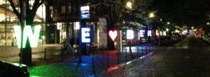 We love Berlin Festival of Lights Freundschaft finden