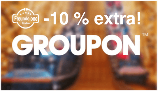 Extra Groupon Rabatt Freunde