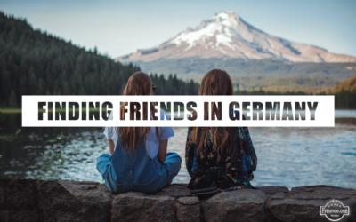 Find friends as au pair